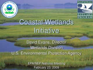 Coastal Wetlands Initiative