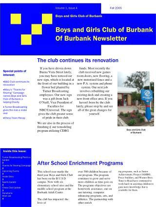 Boys and Girls Club of Burbank