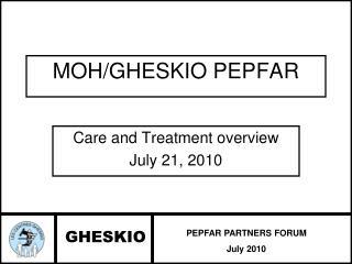 MOH/GHESKIO PEPFAR