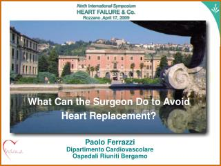 What Can the Surgeon Do to Avoid Heart Replacement?