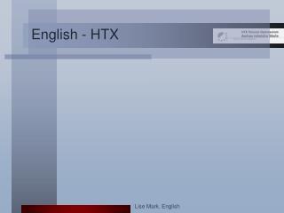 English - HTX