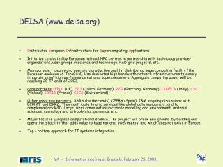 DEISA (deisa)