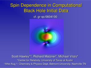 Spin Dependence in Computational Black Hole Initial Data