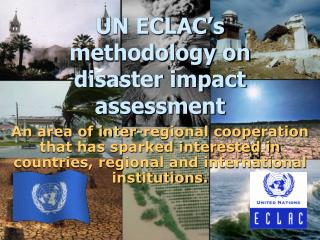 UN ECLAC's methodology on disaster impact assessment