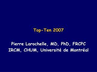 Top-Ten 2007