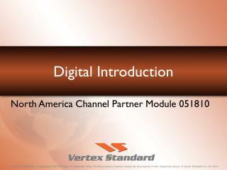 Digital Introduction