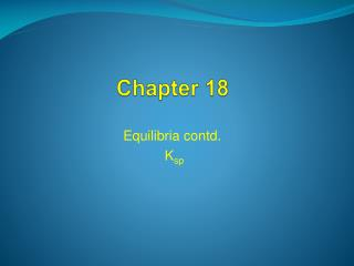 Chapter 18