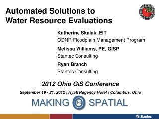 Automated Solutions to  Water Resource Evaluations