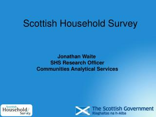 Scottish Household Survey