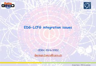 EDG-LCFG integration issues