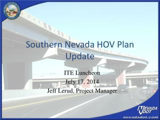 Southern Nevada HOV Plan Update