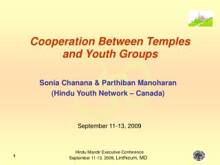 Cooperation Between Temples and Youth Groups