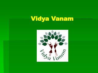 Help Vidyavanam School for Tribal Children