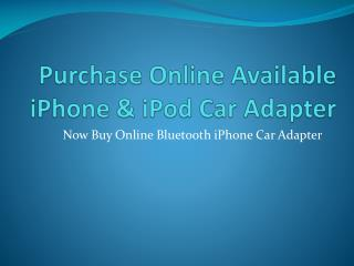 Purchase Online Bluetooth Adapter Kit for Your Car - Dension
