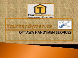 Handyman In Ottawa