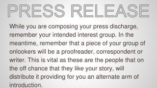 Press Release New Hire
