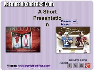 Baseball and basketball box breaks