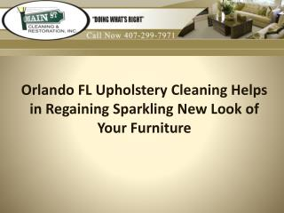 Orlando FL upholstery cleaning help