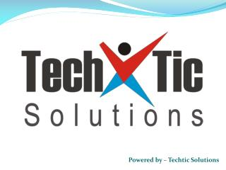 WordPress Development Company India - Techtic Solutions