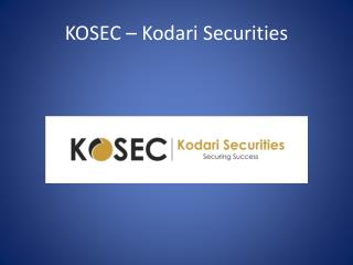Kosec Kodari Securities