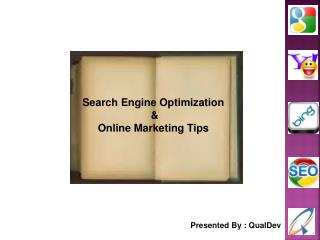Search Engine Optimization & Online Marketing Tips