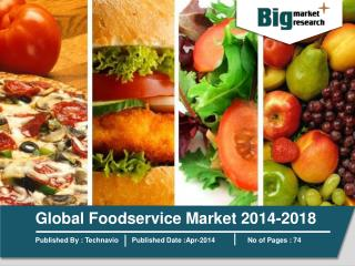 Global Foodservice Market 2014-2018
