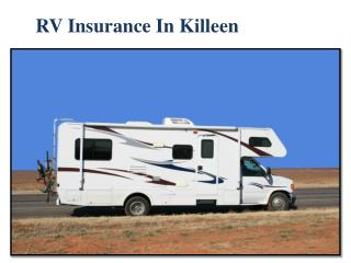 RV Insurance in Killeen