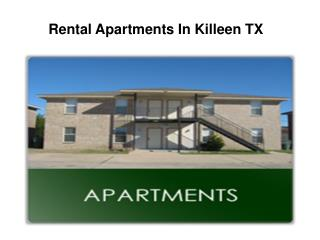 Rental Apartments in Killeen TX
