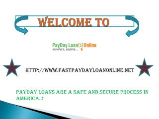 Instant Payday Loans Online on Same Day