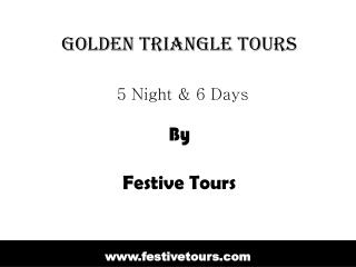 Affordable Golden Triangle Tours Packages