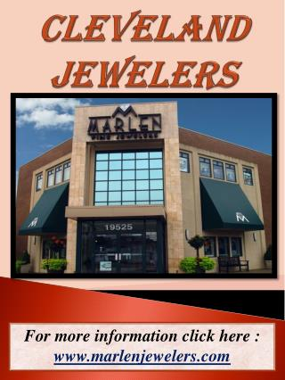 Jewelers In Cleveland Ohio