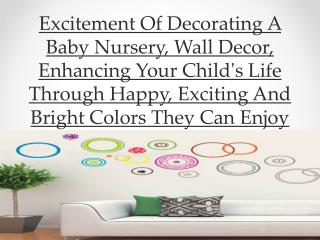 Excitement Of Decorating A Baby Nursery, Wall Decor, Enhanci
