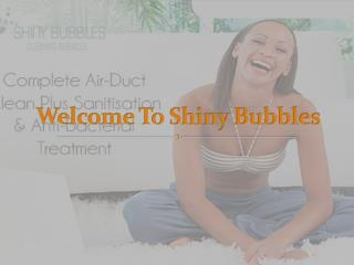 Shiny Bubbles Upholstery Cleaning