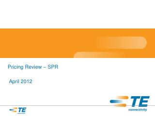 Pricing Review � SPR