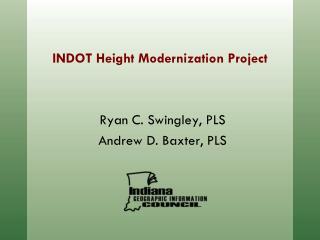 INDOT Height Modernization Project