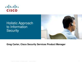 Holistic Approach  to Information Security