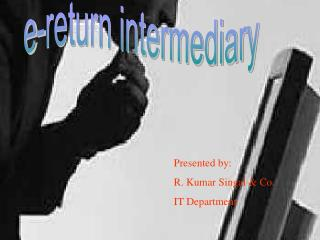 E-return intermediary