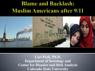 Blame and Backlash:  Muslim Americans after 9/11