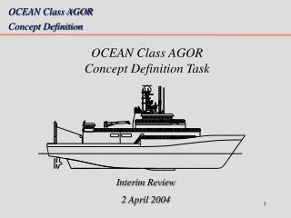 OCEAN Class AGOR  Concept Definition Task
