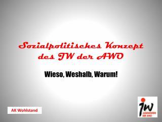 Sozialpolitisches Konzept des JW der AWO