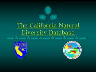 The California Natural Diversity Database