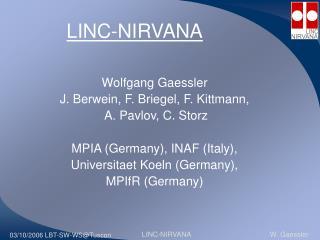 LINC-NIRVANA