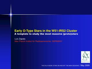 Early O-Type Stars in the W51-IRS2 Cluster A template to study the most massive (proto)stars