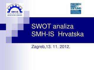 SWOT analiza SMH-IS  Hrvatska