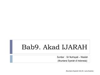 Bab9. Akad IJARAH