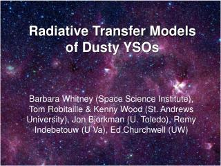 Radiative Transfer Models of Dusty YSOs