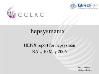 hepsysmanix