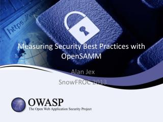 Measuring Security Best Practices with OpenSAMM