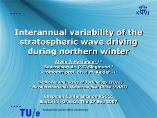 Interannual variability of the stratospheric wave driving during northern winter