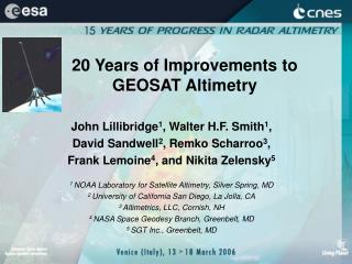 20 Years of Improvements to GEOSAT Altimetry